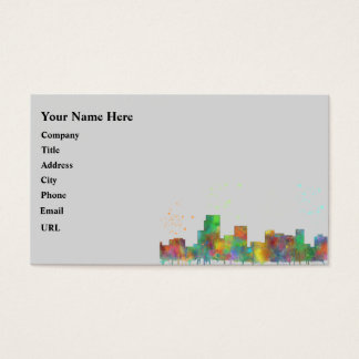 PARSIPPANY, NEW JERSEY BUSINESS CARD