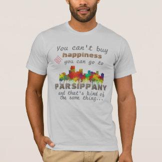 PARSIPPANY, NEW JERSEY SKYLINE - T-Shirt