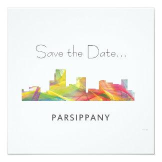 PARSIPPANY, NEW JERSEY SKYLINE WB1- INVITATION