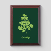 Parsley Award Plaque