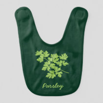 Parsley Baby Bib