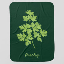 Parsley Baby Blanket