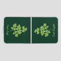 Parsley Beer Pong Table