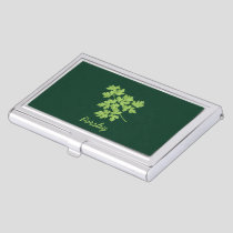 Parsley Business Card Case