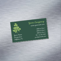 Parsley Business Card Magnet
