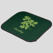 Parsley Car Floor Mat