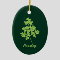 Parsley Ceramic Ornament