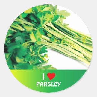 Parsley Classic Round Sticker