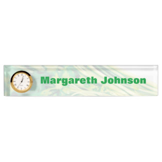 Parsley Desk Name Plate