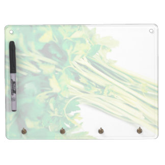 Parsley Dry Erase Board With Keychain Holder