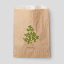 Parsley Favor Bag