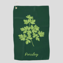 Parsley Golf Towel