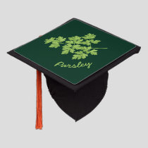 Parsley Graduation Cap Topper