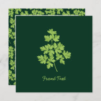 Parsley Invitation