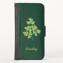 Parsley iPhone X Wallet Case