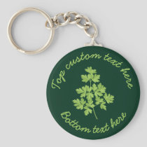 Parsley Keychain