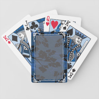 parsley leaf blue bicycle playing cards
