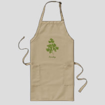 Parsley Long Apron