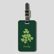 Parsley Luggage Tag