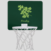Parsley Mini Basketball Hoop