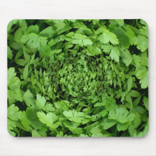parsley mouse pad