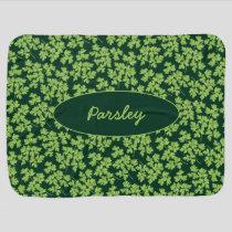 Parsley Pattern Baby Blanket