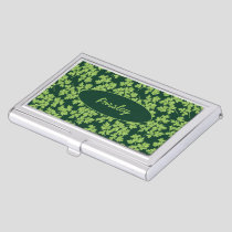 Parsley Pattern Business Card Case