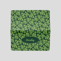 Parsley Pattern Checkbook Cover