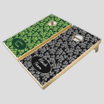 Parsley Pattern Cornhole Set