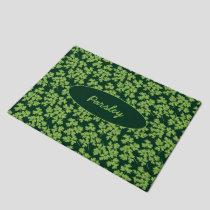 Parsley Pattern Doormat