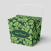 Parsley Pattern Favor Box