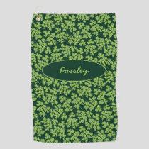 Parsley Pattern Golf Towel