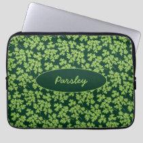 Parsley Pattern Laptop Sleeve