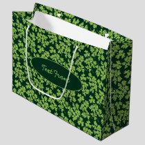 Parsley Pattern Large Gift Bag