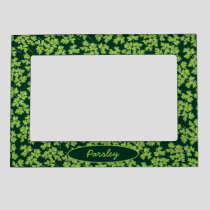 Parsley Pattern Magnetic Frame