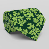Parsley Pattern Neck Tie