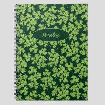 Parsley Pattern Notebook