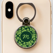 Parsley Pattern Phone Ring Stand