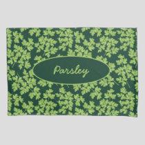 Parsley Pattern Pillow Case