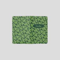 Parsley Pattern Pocket Moleskine Notebook