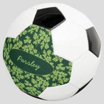 Parsley Pattern Soccer Ball
