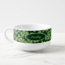 Parsley Pattern Soup Mug