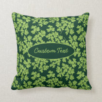 Parsley Pattern Throw Pillow