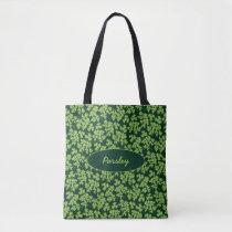 Parsley Pattern Tote Bag