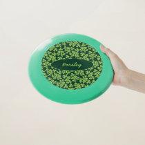Parsley Pattern Wham-O Frisbee
