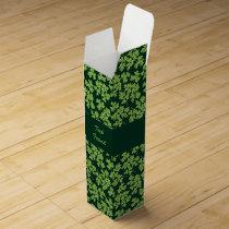 Parsley Pattern Wine Box