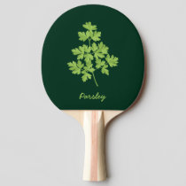 Parsley Ping Pong Paddle