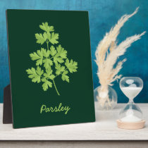 Parsley Plaque