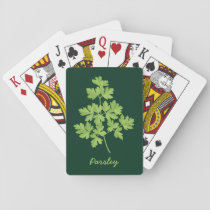 Parsley Playing Cards