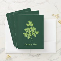 Parsley Pocket Folder